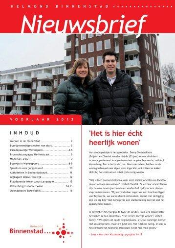 klik hier voor de nieuwsbrief Binnenstad maart 2013 - Helmond ...