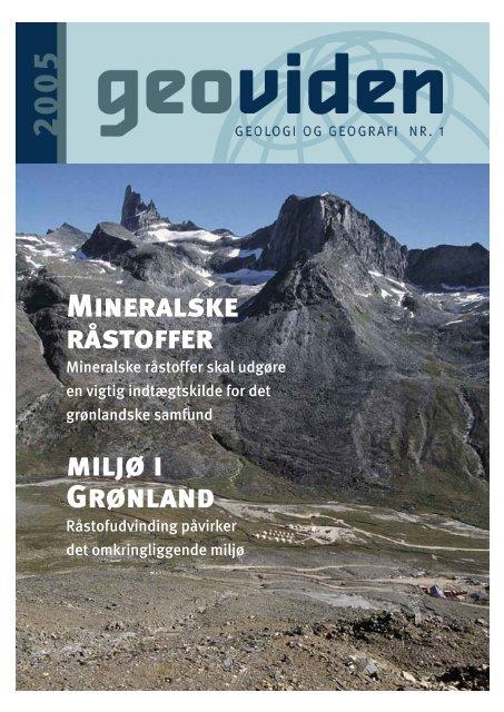 Mineralske råstoffer miljø i Grønland - Geocenter København