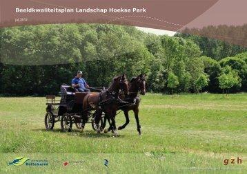 Beeldkwaliteitsplan Landschap Hoekse Park - Planviewer