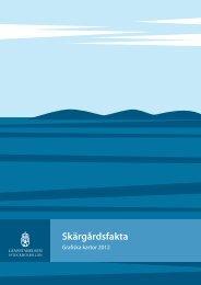 Skärgårdsfakta - SLL Tillväxt, miljö och regionplanering (TMR)