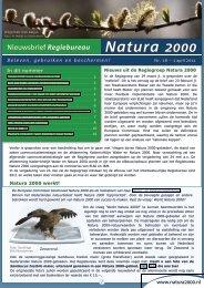 18e nieuwsbrief, april 2011 - Natura 2000