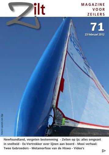 Zilt Magazine 71- 23 februari 2012 - Bagheera-sailing