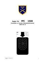 Regler för PPC 1500