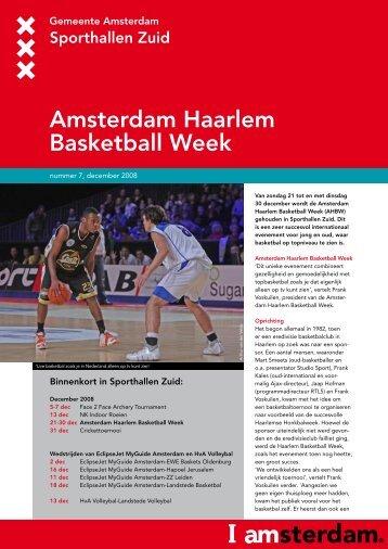 Sporthallen Zuid Leaflet, nummer 7, December 2008