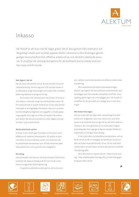 Inkasso (pdf) - Alektum Inkasso