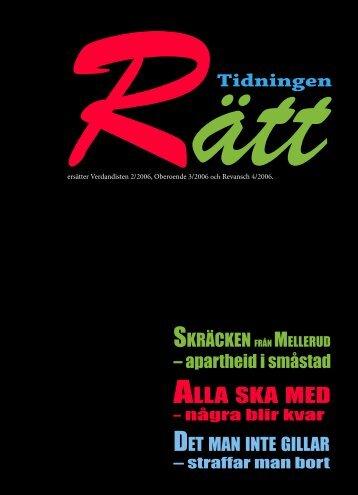 Tidningen Rätt (helt klar).indd - RFHL