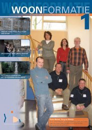 Woonformatie 2007-1 - IJsselsteinse Woningbouwvereniging