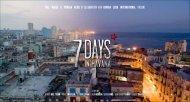 FULL HOUSE & MORENA FILMS iN ... - 7 days in Havana