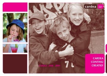 Jaarverslag 2008/2009 - Cardea Jeugdzorg