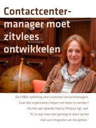 Lees hier - School for Customer Management