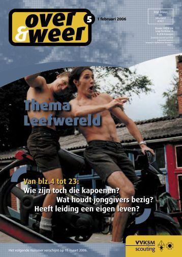 Thema Leefwereld - Scouts en Gidsen Vlaanderen