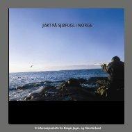 Jakt på sjøfugl i Norge(pdf), en publikasjon fra NJFF - Aqua Mar