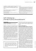 Hvordan får man etableret GCP-enheder i Danmark? - Ugeskrift for ... - Page 3