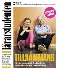 Lärarstudenten 3/2012 - Lärarförbundet