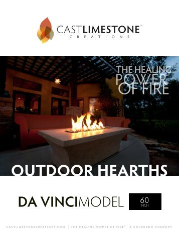 Download Outdoor Hearth Catalog - Cast Limestone Creations
