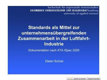 Standards als Mittel zur unternehmensübergreifenden ...