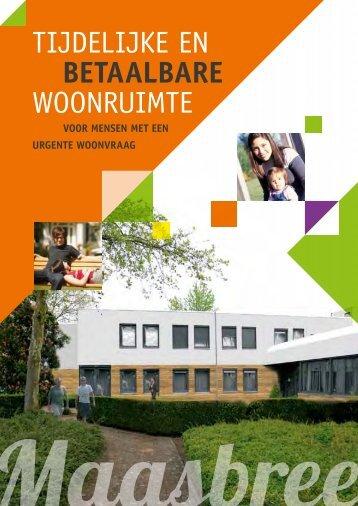 download brochure Maasbree - interimhousing.eu