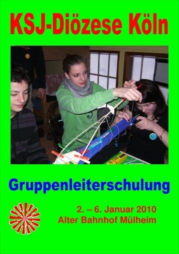 Euer KSJ-Schulungsteam - Erzbistum Köln
