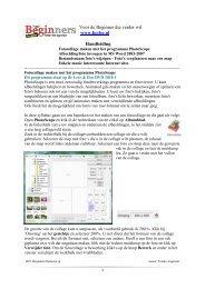 pdf-formaat (615 Kb) - HCC Beginners Gebruikers Groep