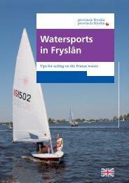 Watersports in Fryslân - Beleef Friesland