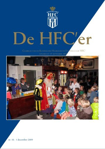 nr. 10. 1 december 2009 - Koninklijke HFC