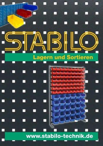 Lagern und Sortieren | Betriebseinrichtung | Werkstatt - www.stabilo-technik.de