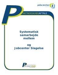 Systematisk samarbejde mellem og Jobcenter Slagelse