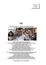 Onderwijskrant 163 hervorming s.o., spelling, jaarklassensysteem