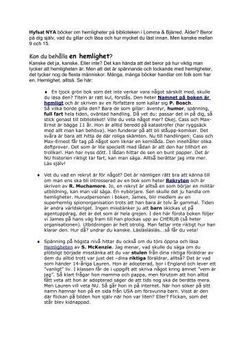 eldens hemlighet pdf