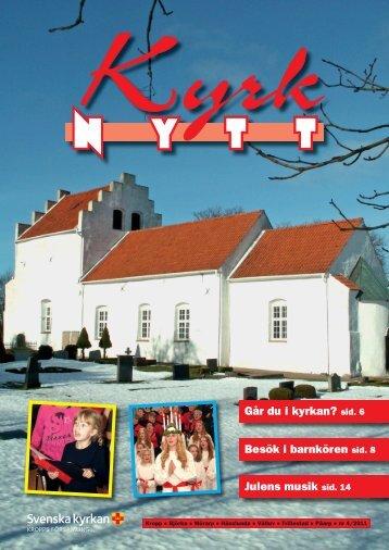 Kyrknytt 2011 nr. 4 - Kropps församling