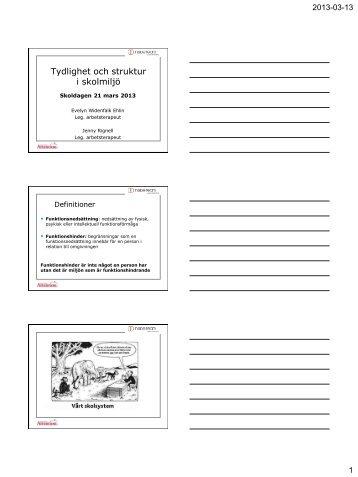 Tydlighet och struktur i skolmiljö - Attention Utbildning