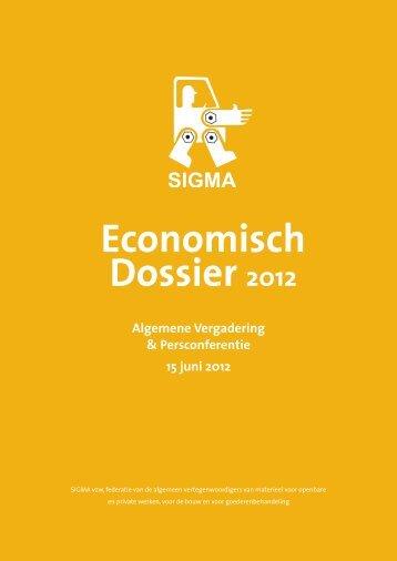 Economisch Dossier 2012 - SIGMA