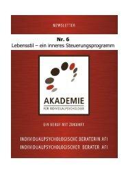 Lebensstil – ein inneres Steuerungsprogramm - Akademie für ...