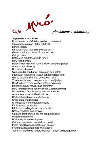 Komponera din egen buffé - Regionmuseet Kristianstad