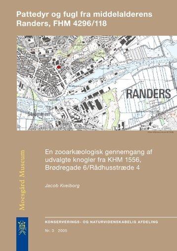 Pattedyr og fugl fra middelalderens Randers, FHM 4296/118