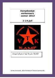 KAMPBOEKJE VERKENNERS 2013.pdf - Scouts Stad Torhout