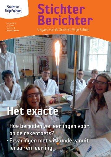 Stichter Berichter december 2012.pdf - Stichtse Vrije School