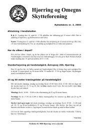Hjørring og Omegns Skytteforening