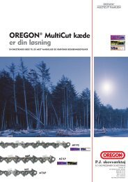 OREGON® MultiCut kæde er din løsning - Skovvaerktoej.dk