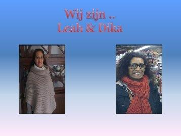 Presentatie van Leah en Dika over de Molukken - Vrouwenpraatgroep