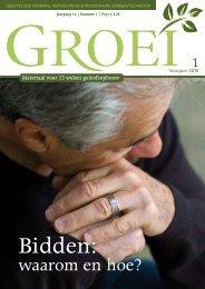 2010-1 Bidden waarom en hoe - Groei