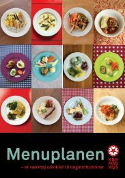 Se også folder om Menuplanen (download pdf) - Københavns Madhus