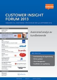 b forum 2013 customer insight ht - Conductive
