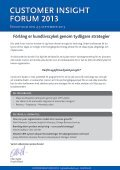 b forum 2013 customer insight ht - Conductive - Page 2
