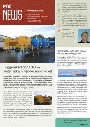 PTC News - F P D Scandinavia Aktiebolag