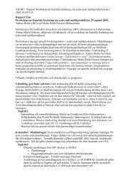 AH/JBT Rapport Workshop om framtida forskning om sydsvensk ...