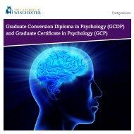 Graduate Conversion Diploma in Psychology (GCDP) - University of ...