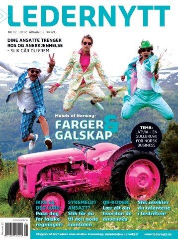 FARGER GALSKAP - Norwegian Chamber of Commerce in Latvia