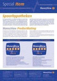 Special Item – Spaarhypotheken - MoneyView