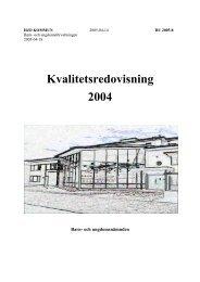 Kvalitetsredovisning 2004 - Karlstads universitet